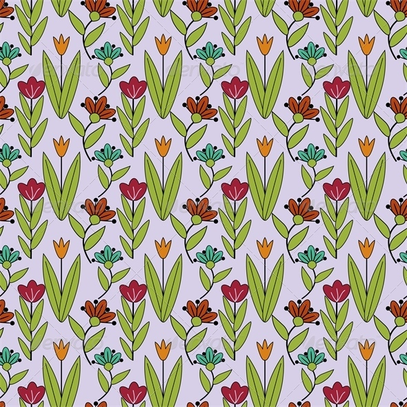 GraphicRiver Floral Pattern 7513887