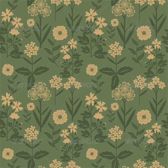 GraphicRiver Floral Pattern 7513914