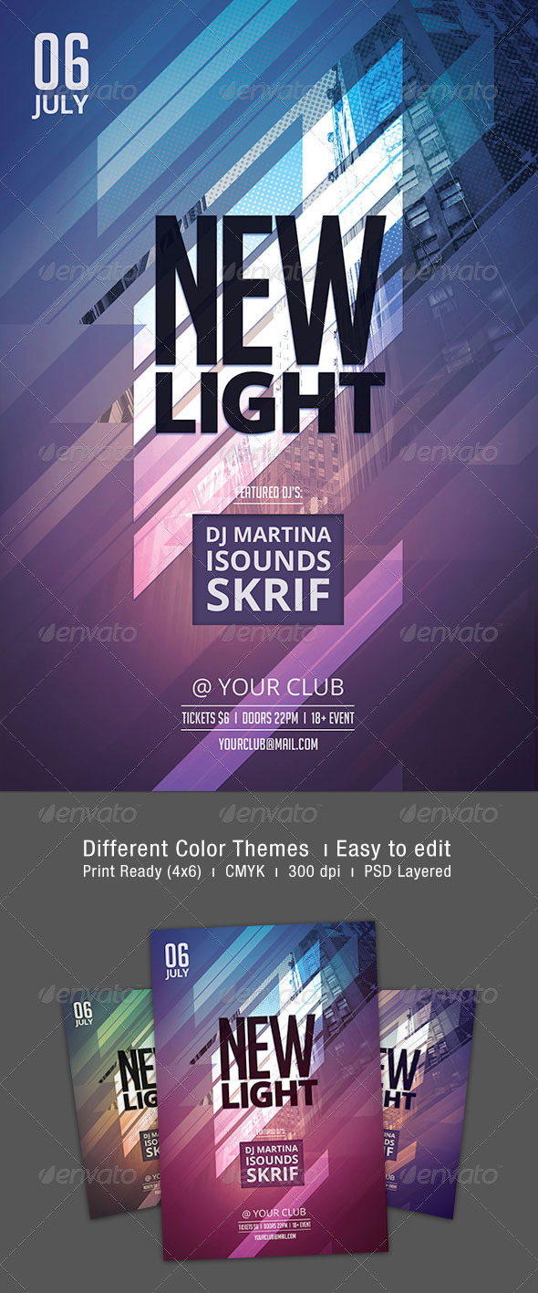 GraphicRiver New Light Flyer 7514025