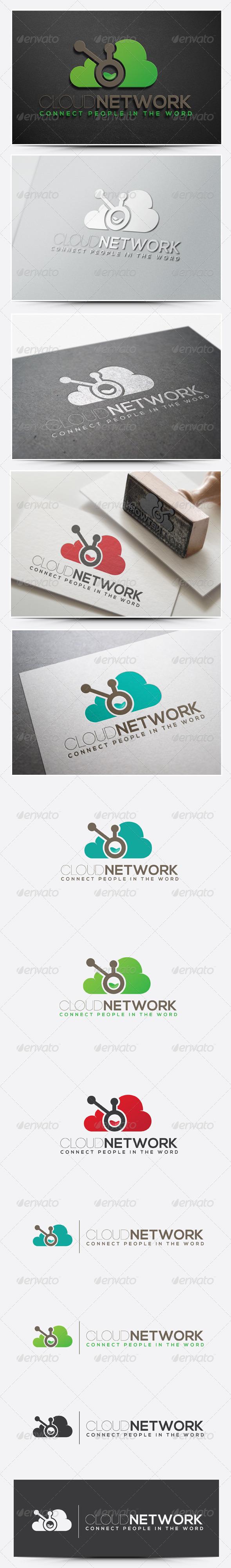 GraphicRiver Cloud Logo 7461609