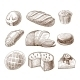 Bread Icons - GraphicRiver Item for Sale