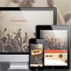 Retro Festival / Concert / Night Club Party Muse - ThemeForest Item for Sale