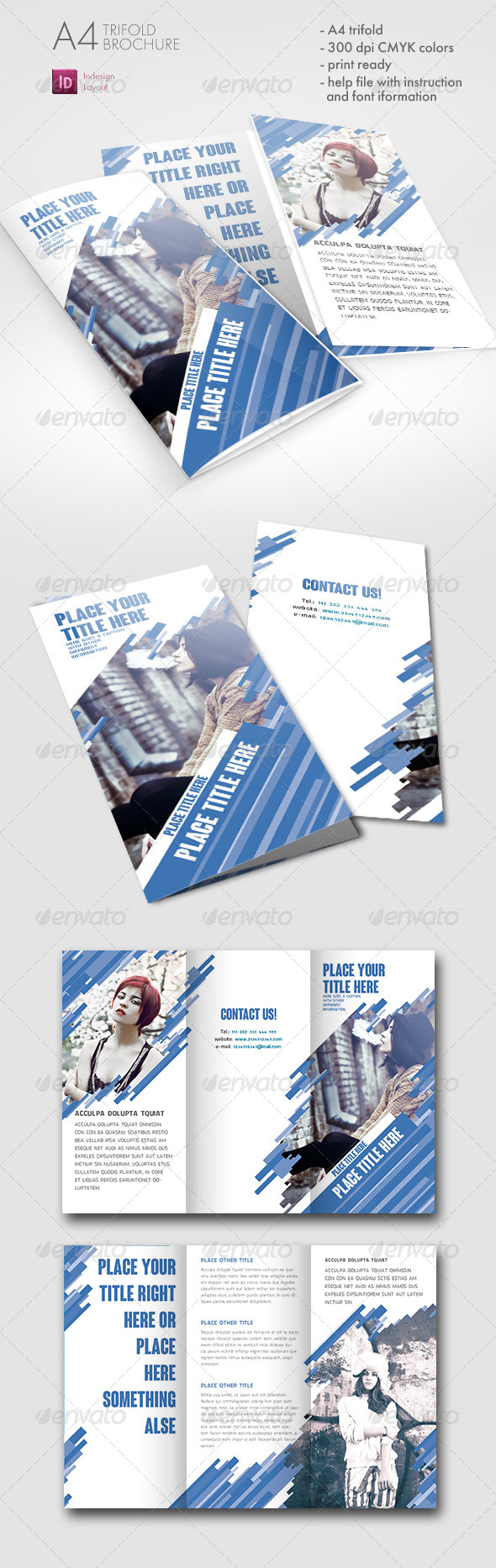 GraphicRiver Dynamic Trifold Brochure 7514456