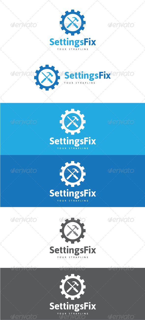 GraphicRiver Settings Fix Logo 7514496