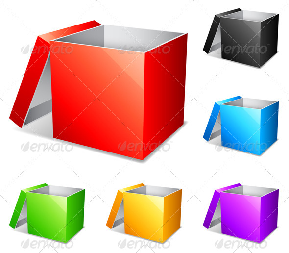 GraphicRiver Color Boxes 7514683