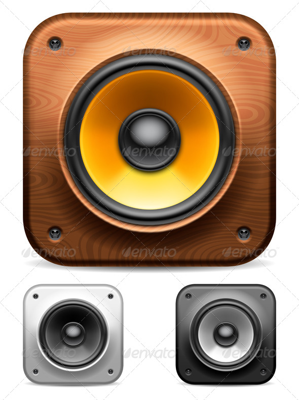 GraphicRiver Audio Speakers 7514715