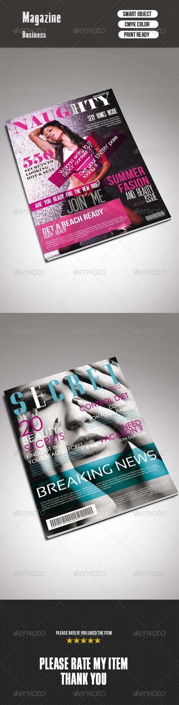 GraphicRiver Magazine Cover Bundle 7514853