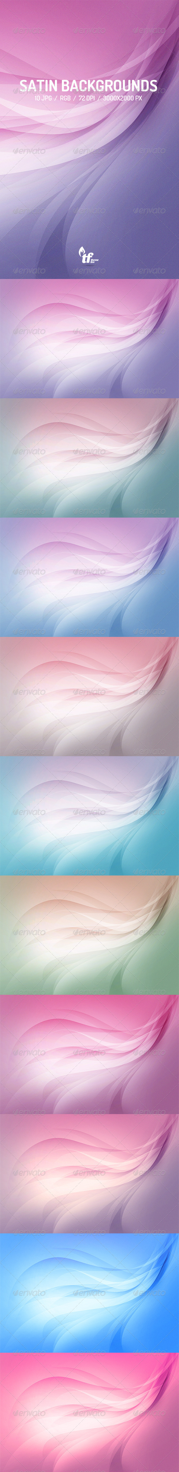 GraphicRiver Clean Satin Lines Background 7514855