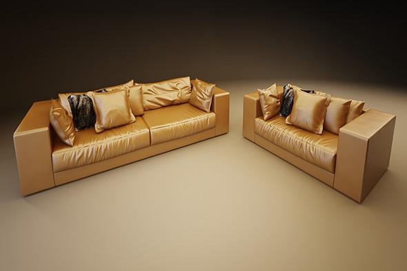 3DOcean Luxury Sofa 7515105