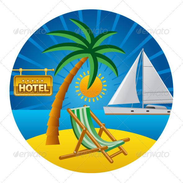 GraphicRiver Tropical Travel 7516556