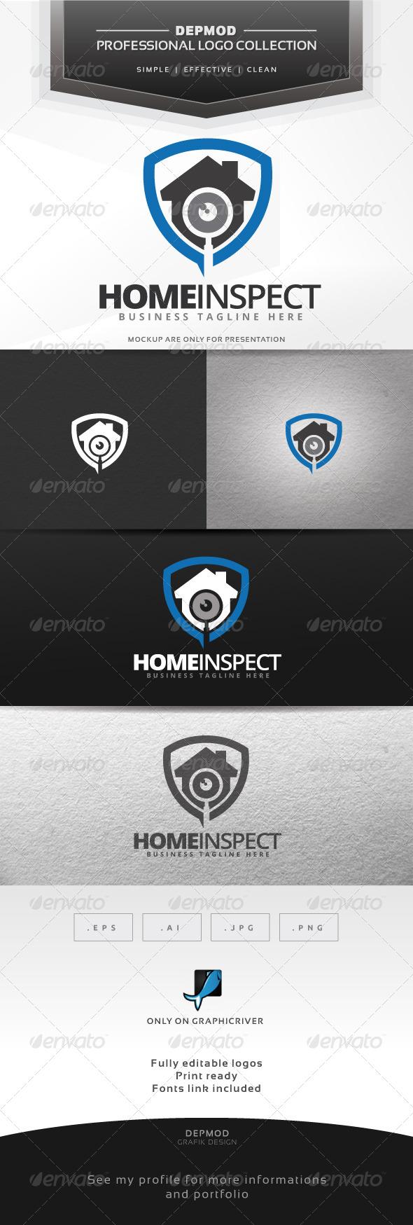 GraphicRiver Home Inspect Logo 7516567