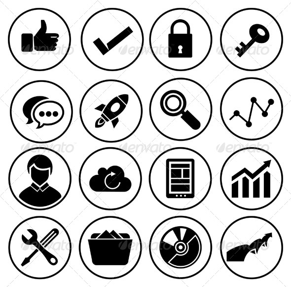 GraphicRiver Business Planning Icons 7516582
