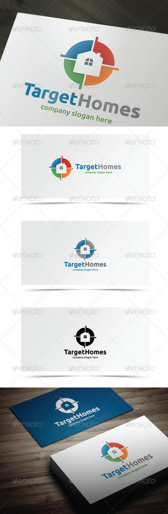 GraphicRiver Target Homes 7516611
