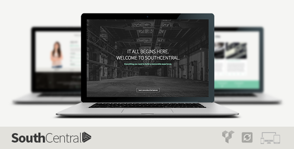 ThemeForest SouthCentral One Page Parallax WordPress Theme 7440567