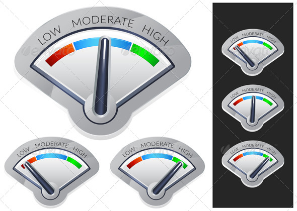 GraphicRiver Performance Meter Illustration 7516626