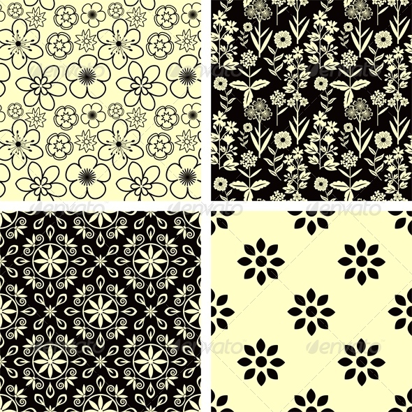 GraphicRiver Pattern Set 7516670