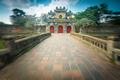 Beautiful gate to Citadel of Hue in Vietnam, Asia. - PhotoDune Item for Sale