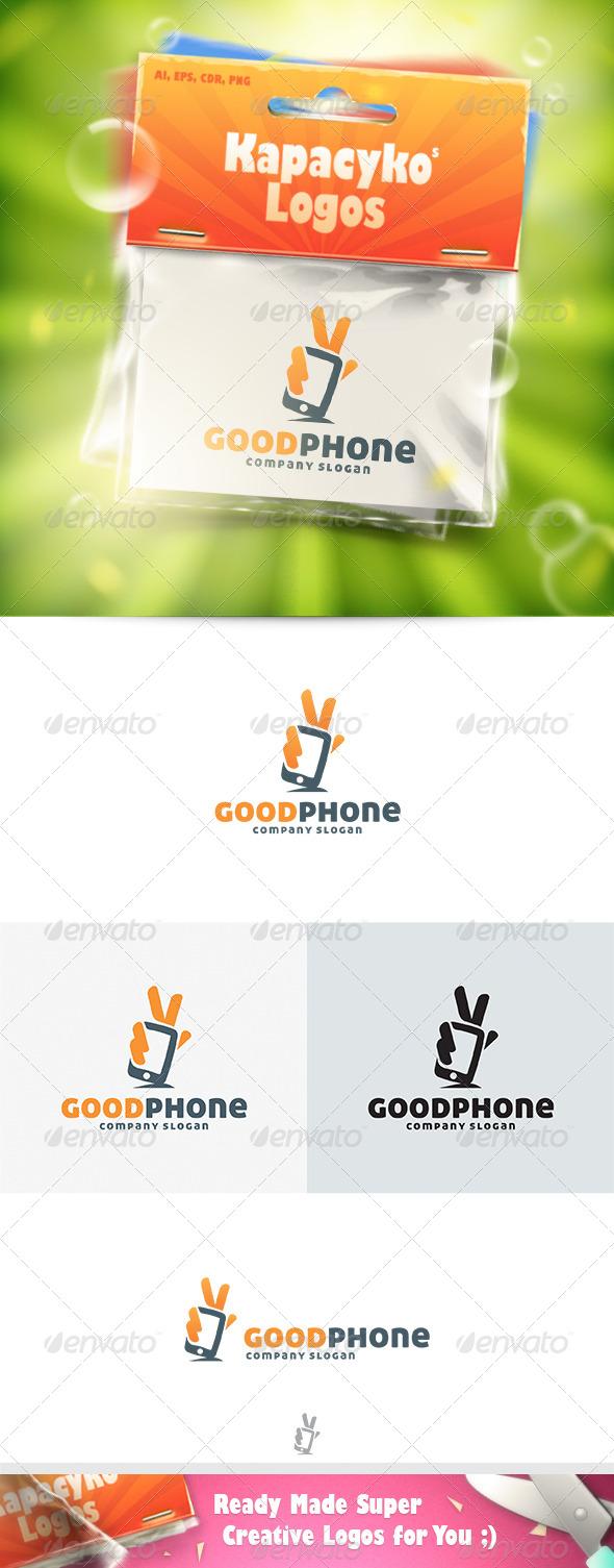 GraphicRiver Good Phone Logo 7516975