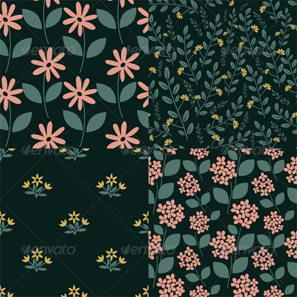 GraphicRiver Patterns Set 7517003