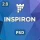 inspiron - Corporate Multipurpose PSD Template - ThemeForest Item for Sale