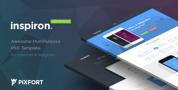 inspiron - Corporate Multipurpose PSD Template
