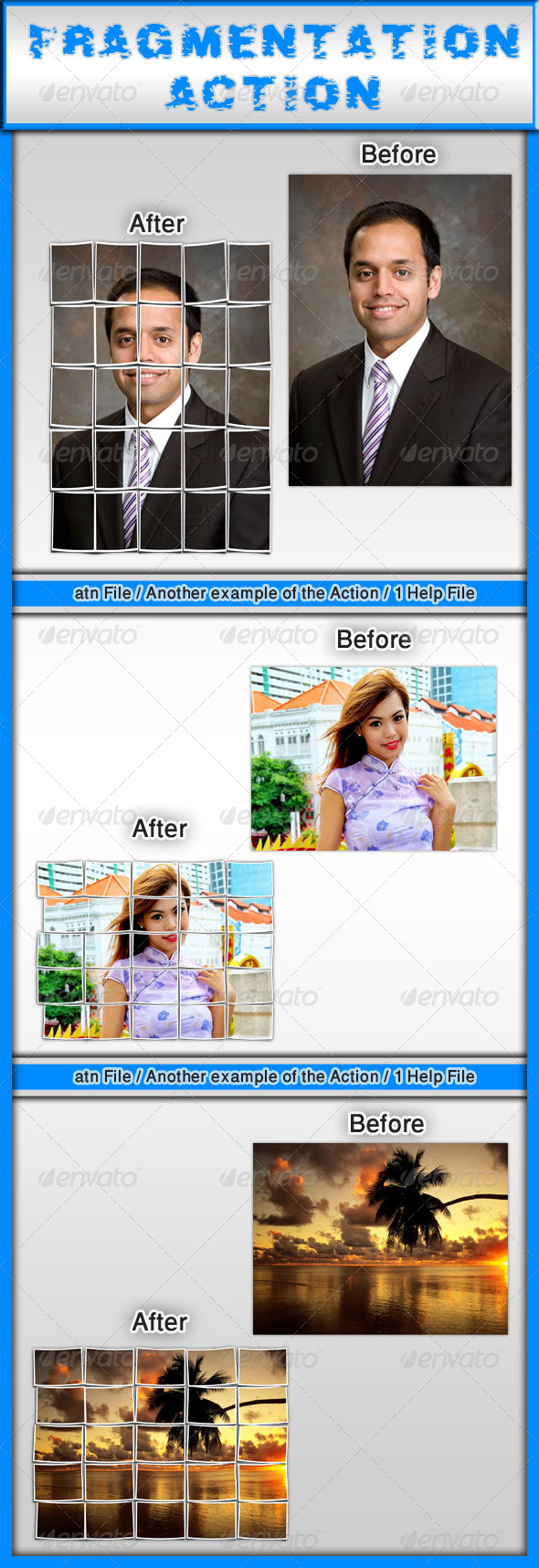 GraphicRiver Fragmentation Action 7517174