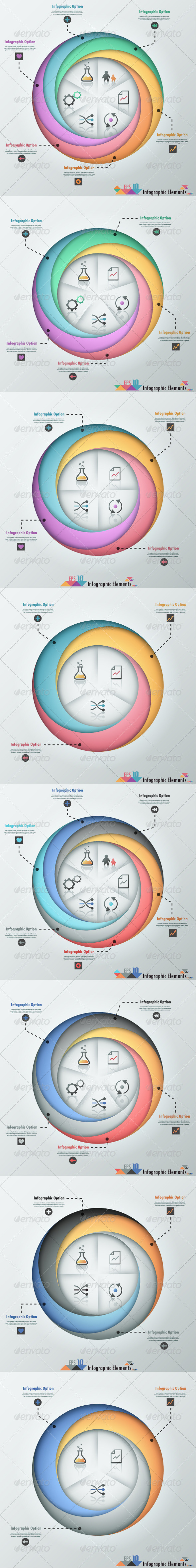 GraphicRiver Modern Infographic Options Banner 8 Versions 7517224