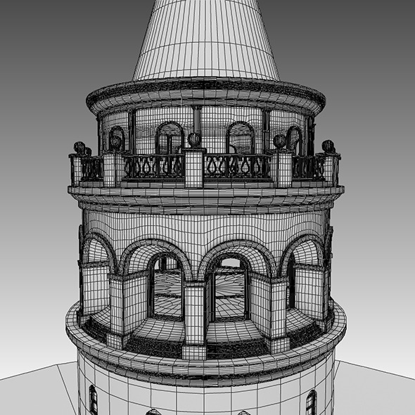 3DOcean galata kulesi galata tower 7517301