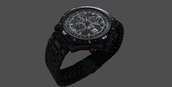 CX Swiss Military Hurricane Watch - 3DOcean Item for Sale