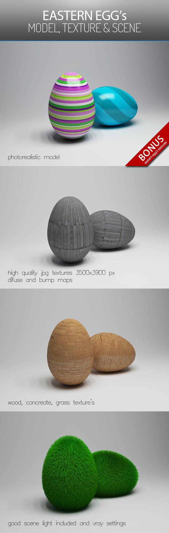 3DOcean Eastern Egg s 7517499