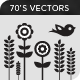 70s Folk and Pop Art Vectors v1 - GraphicRiver Item for Sale