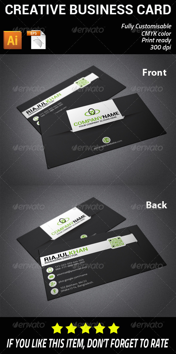 GraphicRiver Creative Business Card 7513249