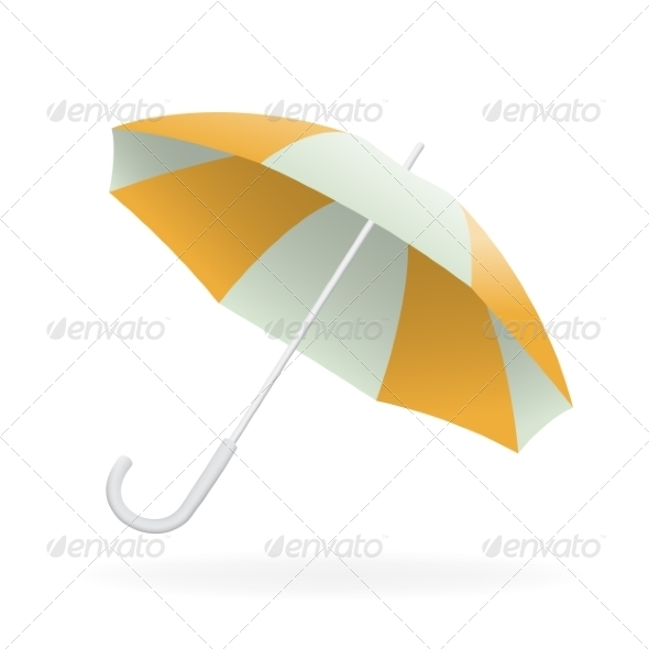 GraphicRiver Vector Illustration of Opened Umbrella 7519450