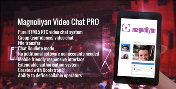 CodeCanyon Magnoliyan Video Chat PRO 7519796