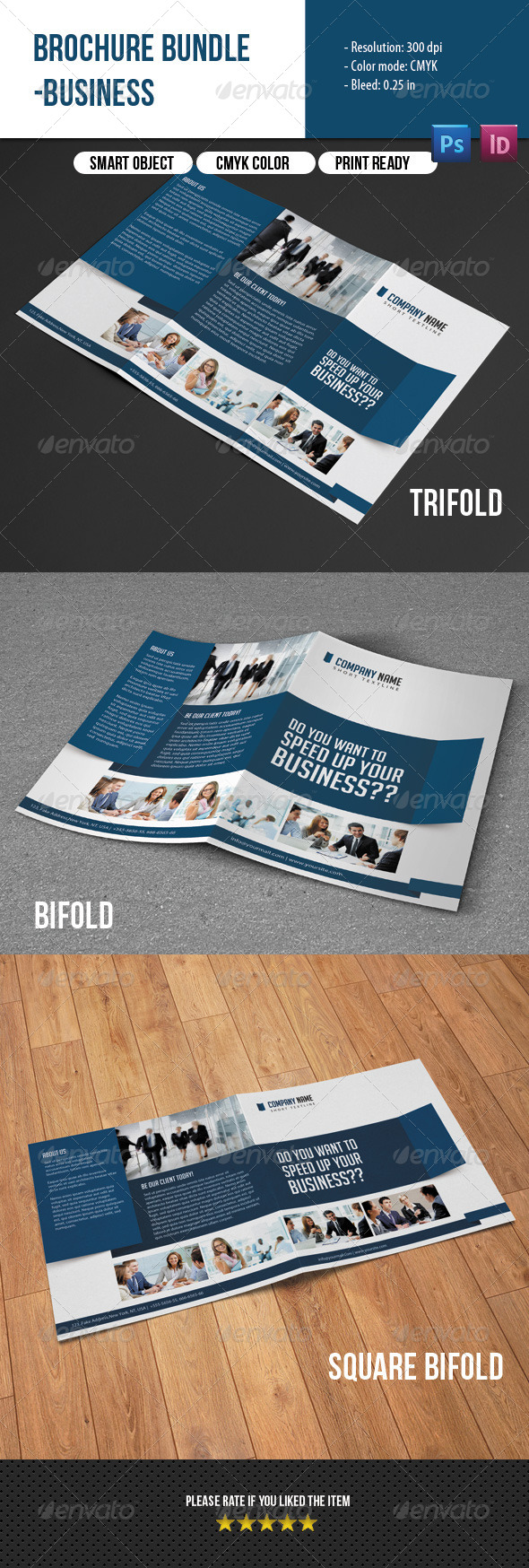 GraphicRiver Business Brochure Bundle 7519805