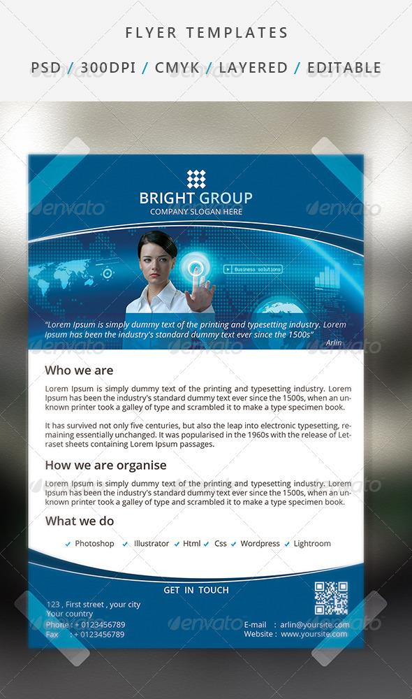 GraphicRiver Corporate Flyer Template 18 7062926