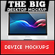 The Big Desktop Screen Mock-up - GraphicRiver Item for Sale