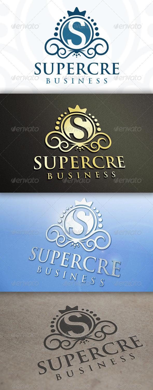 GraphicRiver Super Crest Logo 7520190