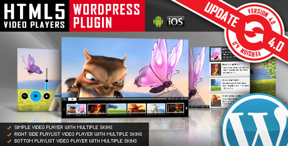 Video Player & FullScreen Video Bgd. - WP Plugin