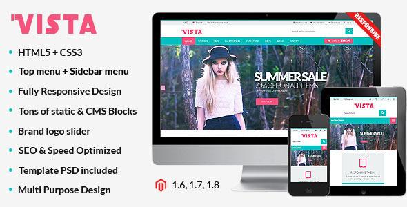 Vista - Premium Responsive Magento Theme - Shopping Magento