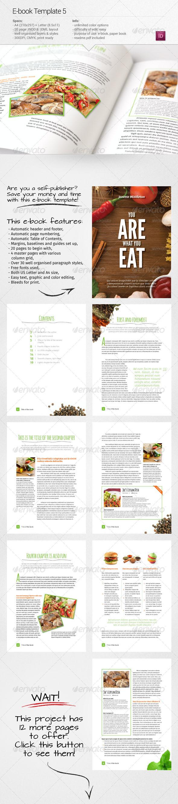 GraphicRiver E-book Template 5 7520535