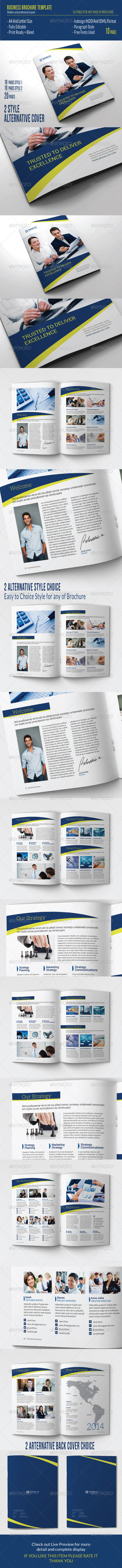 GraphicRiver Business Brochure Template 7520579