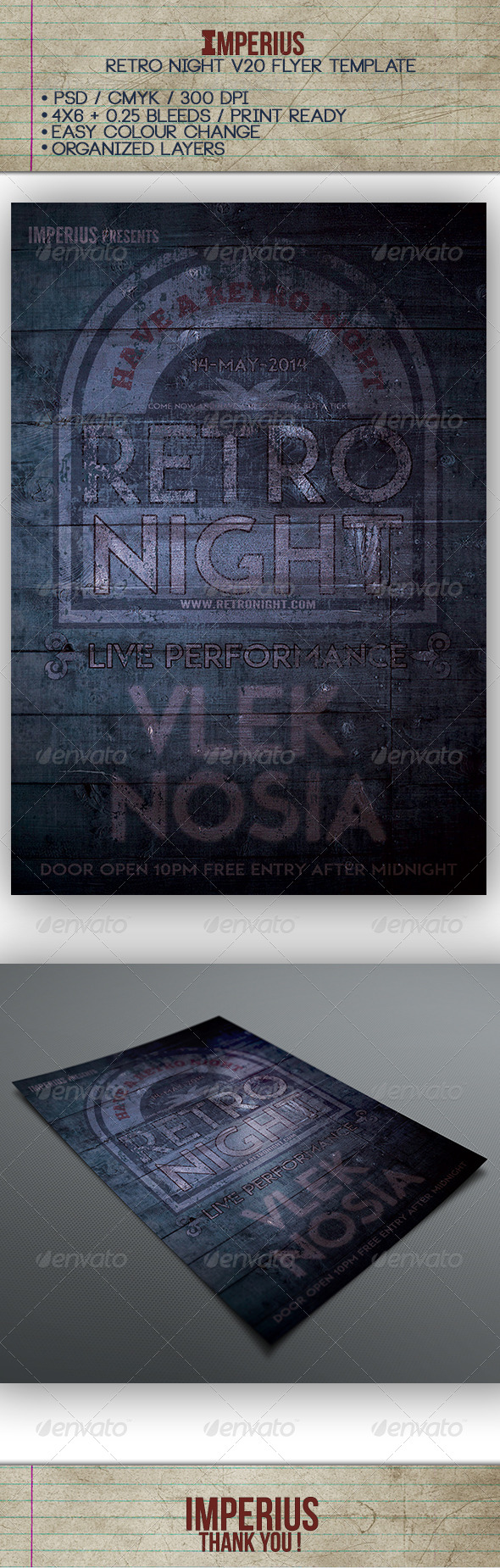 GraphicRiver Retro Night V20 7520632