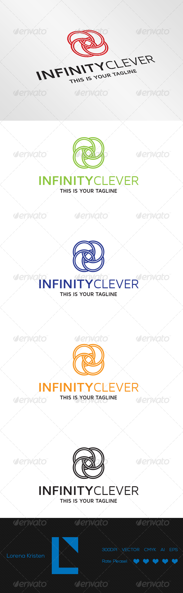GraphicRiver Infinity Clever 7520673