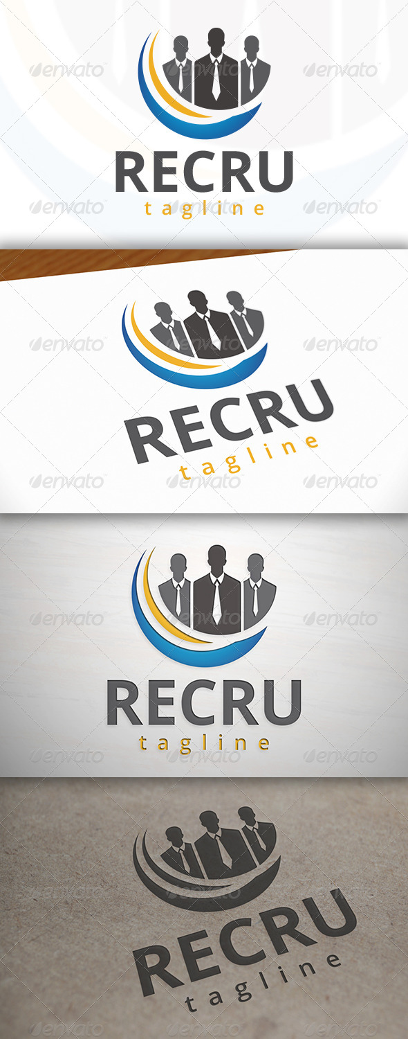 GraphicRiver Recruitment Logo 7520704