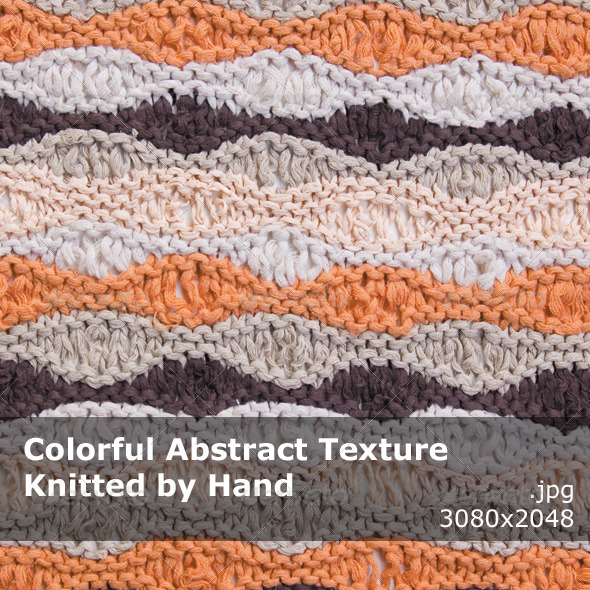 GraphicRiver Abstract Texture Knitted by Hand 7520708