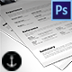 4 Pages Resume - GraphicRiver Item for Sale