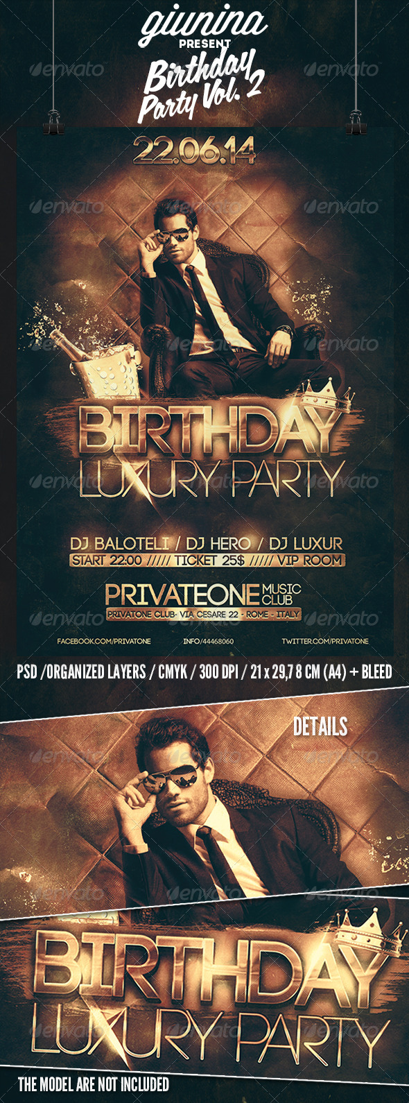 Birthday Party Vol 2 Flyer Template