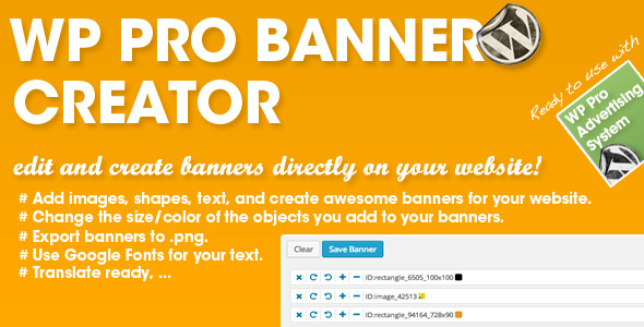 CodeCanyon WP PRO Banner Creator 7521301