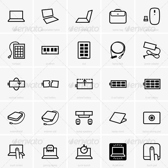 GraphicRiver Laptop Accessories 7521806
